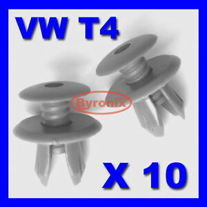 VW-T4-T5-TRANSPORTER-INTERIOR-TRIM-PANEL-CLIPS-DARKGREY