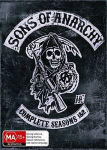 Sons Of Anarchy : Season 1-2 (DVD, 2011,...