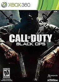 Call of Duty: Black Ops  (Xbox 360, 2010...