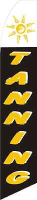 Tanning Custom Designed Advertising Sign Swooper Banner Flag Only Neoplex