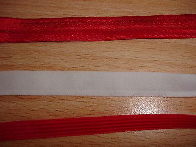 Gummiband 0,20€/m rot 10Meter MN22