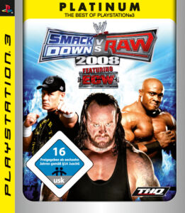 WWE SmackDown vs. Raw 2008: Featuring ECW -- Platinum (Sony PlayStation 3, 2008)