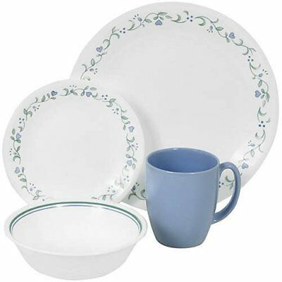 Corelle Plates Country Dinnerware Serving Set For 4 Country Cottage