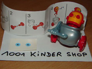 Kinder k02 n 39 roboter koch robot bpz stickers ebay for Koch roboter