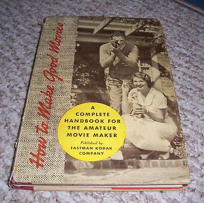 Handbook Amateur Movie Maker Eastman Kodak Co Hc Dj