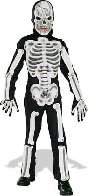 Eva Skeleton Children's Medium 8-10 Halloween Costume