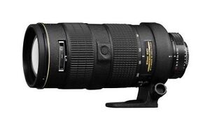 Nikon Zoom-Nikkor 1986 80-200 mm F/2.8 D...