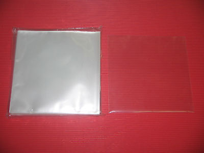OPEN MOUTH TYPE JAPAN 100 PLASTIC OUTER SLEEVE  FOR MINI LP CD
