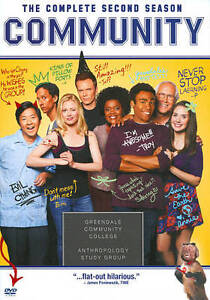 Community: The Complete Second Season (DVD, 2011, 4-Disc Set).  NEW.  Free Ship.