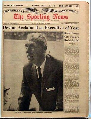 Oct 24 1964 Sporting News Bing Drvine World Series