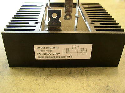 300 Amp STC-ST-Wind Generator Rectifier, 1 or 3 phase
