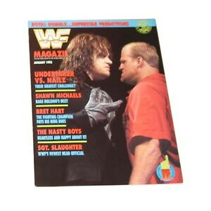 WWF - January, 1993 Back Issue