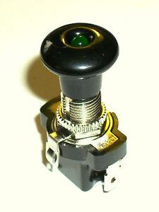 12V 10 A Interrupteur à tirage  LED vert un/en)