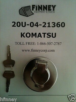 Komatsu Dozer Locking Fuel Cap 20u-04-21361 D21p-7 D20a D21a-7 D21pg Mx45