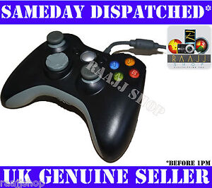 USB-WIRED-CONTROLLER-FOR-MICROSOFT-XBOX-360-PC-WINDOWS-LAPTOP-DESKTOP-UK-SELLER