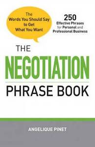 2THE NEGOTIATION PHRASE BOOK by Angelique Pinet : WH2-R6B : PB637 : NEW BOOK