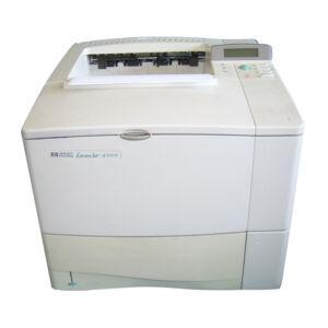 HP LaserJet 4100n 4100 Fast Mono Desktop Laser Printer Network Ready + Warranty