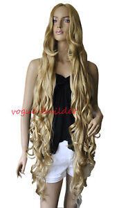 47-Long-Gold-Blonde-Spiral-Wavy-Cosplay-Party-Hair-Wig