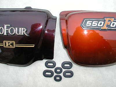 Honda Cb750f Cb750f Cb 750 750f 1975-1978 Side Cover Grommet Set