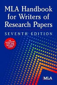 MLA Handbook for Writers of Research Papers by Gibaldi, Joseph -Paperback