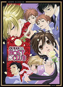 Ouran High School Host Club Complete Series (DVD, 2012, 4-Disc Set) - Brand New