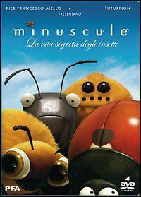 Minuscule-La-Vita-Segreta-Degli-Insetti-Cofanetto-4-Dvd-Nuovo-Sigillato