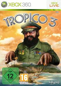Tropico 3 (Microsoft Xbox 360, DVD-Box) neu + OVP