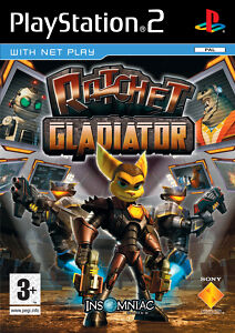 Ratchet: Gladiator (Sony PlayStation 2, 2005, DVD-Box)