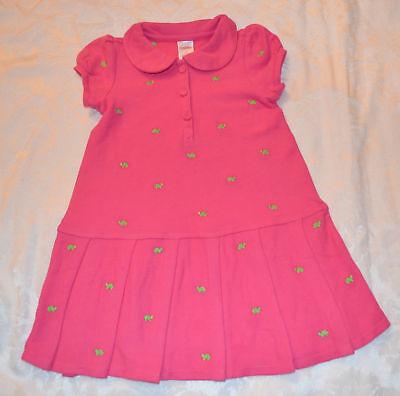 Gymboree Turtle Match Pink Polo Dress 4t 5t