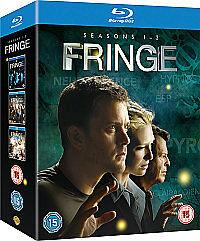 Fringe - Series 1-3 (Blu-ray, 2011, 12-Disc Set) BRAND NEW, FACTORY SEALED