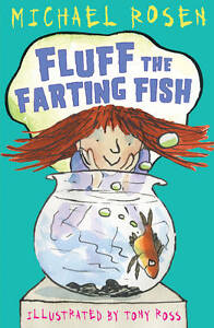 Fluff the Farting Fish by Michael Rosen Paperback Book (English) Kids book