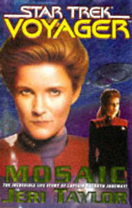 Mosaic-Star-Trek-Voyager-GOOD-Book