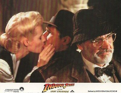 INDIANA JONES & the LAST CRUSADE - lobby card print -