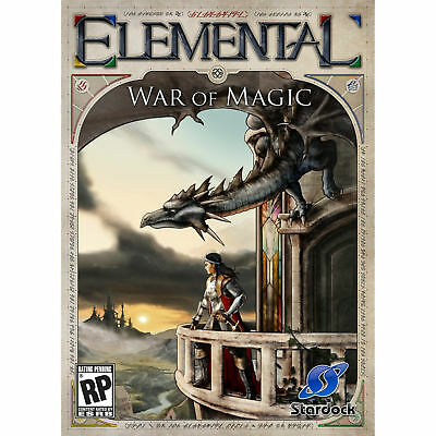Computer Games - Elemental War Of Magic PC Games Windows 10 8 7 XP Computer strategy rpg NEW