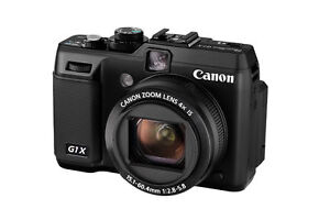 Canon  G1 X 14.3 MP Digital Camera - Bla...