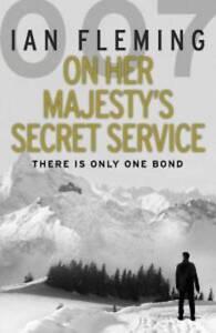 On-Her-Majestys-Secret-Service-James-Bond-007-by-Ian-Fleming-Paperback-2012