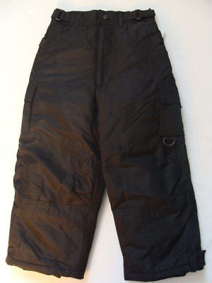 Girls Rothschild Black Snow Pants Size 5 6 Ski Cargo Winter Snowboard