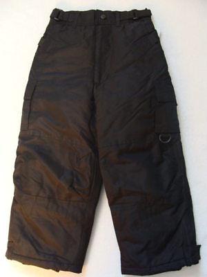 Girls Rothschild Black Snow Pants Size 5 6 Ski Cargo Winter Snowboard