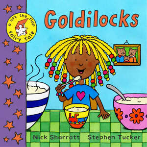 Tucker-Stephen-Lift-the-flap-Fairy-Tales-Goldilocks-Book