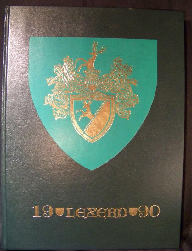 Lexerd 1990 Drexel University Yearbook Philadelphia PA