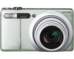 Ricoh CX5 10.0 MP Digital Camera - Silver