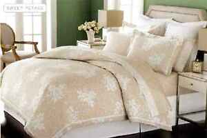 MARTHA-STEWART-Sweet-Petals-Duvet-Cover-FULL-QUEEN-Taupe