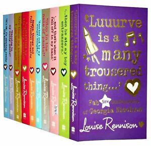 Louise Rennison Georgia Nicolson 10 Books Collection Set