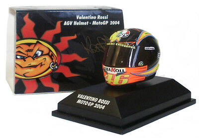 Minichamps Valentino Rossi Helmet - Motogp 2004 1/8 Scale