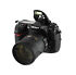 Nikon  D300S 12.3 MP Digital SLR Camera - Black (Kit w/ 18-200mm Lens)