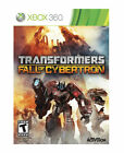Transformers: Fall of Cybertron Xbox 360 Video Games