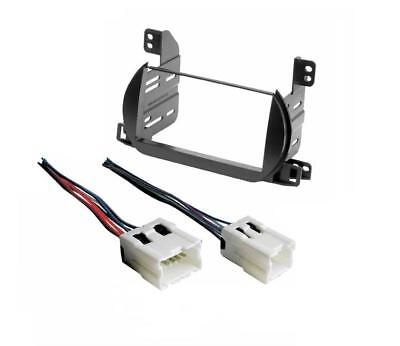 Fits Nissan Altima Double Din Dash Radio Stereo Install Kit +wire Harness