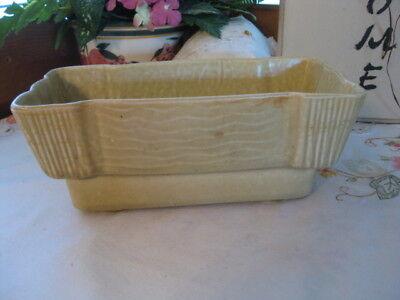 Vintage Brush USA-McCoy Pottery #F562 Planter Lt Green