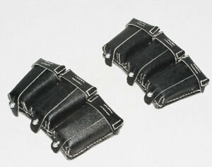 PAIR-WWII-GERMAN-98K-LEATHER-AMMO-POUCH-31099