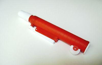 10 Pipette Pumps 25 Ml Release Precise Red 25ml Ml Lab Laboratory Dispenser
